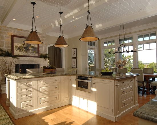 L-shaped Kitchen Islands Design, Pictures, Remodel, Decor and .