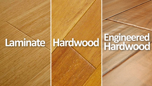 Hardwood vs Laminate vs Engineered Hardwood Floors | What's the .