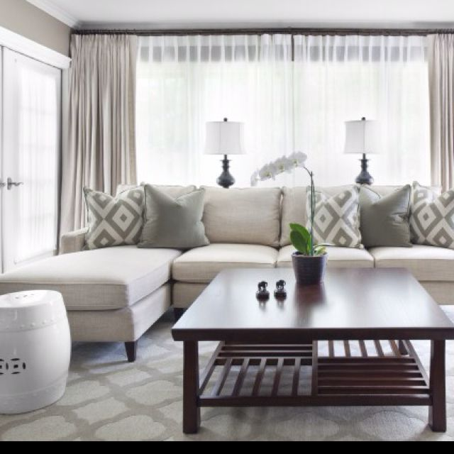 Ideas for living room curtains to improve   your room decoration