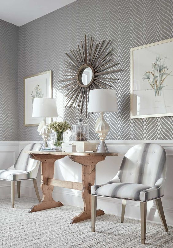 Stunning Living Room Wallpaper Ideas That'll Amaze You - SeemHo