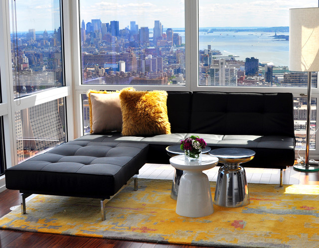 No Room for a Coffee Table? Think Agai