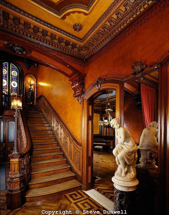 Victorian #mansion Interior | ... Lippitt mansion, Providence, RI .