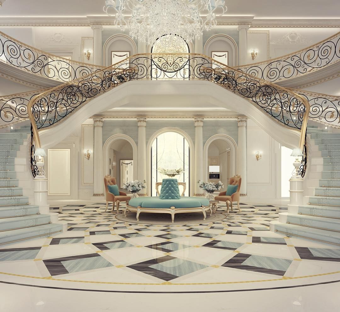 Great tips and pictures for decorating a   mansion