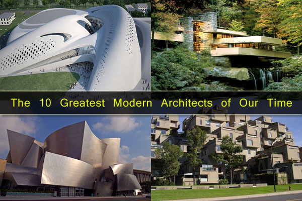 Iconic Legends: The 10 Greatest Modern Architects of Our Time .
