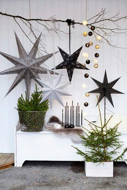 12 Modern Christmas Decorating Ideas | Scandinavian christmas .