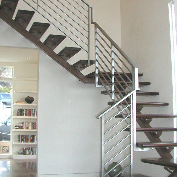 Dorfman Stair Railing | Stair railing, Modern stair railing, Metal .