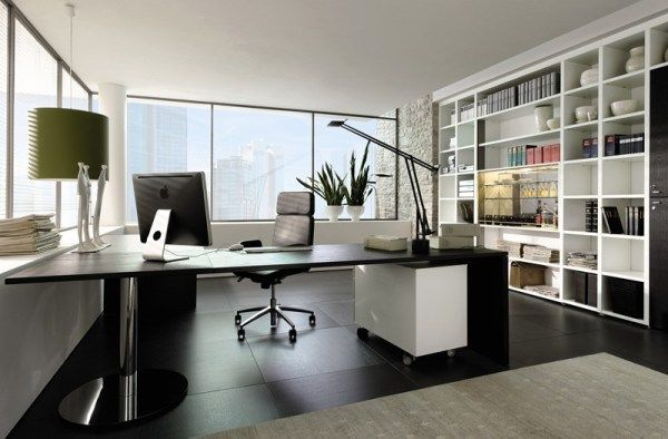 20 Of The Best Modern Home Office Ideas | Modern office interiors .