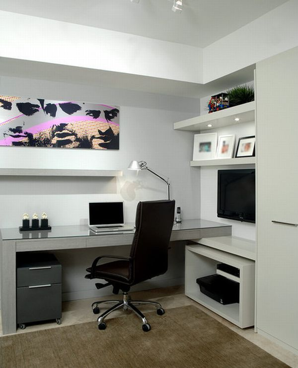 15 Modern Home Office Ideas | Modern home offices, Modern home .