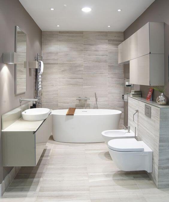30 Elegant Examples of Modern Bathroom Design For 2018 | Modern .