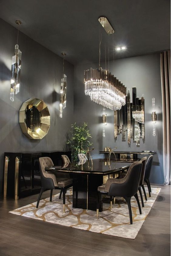 48 Exquisite Contemporary Dining Room Designs For Your New Home in .