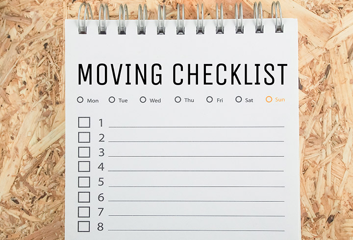 Moving into a New House? 10 Point Checklist for a Easy Move in 20