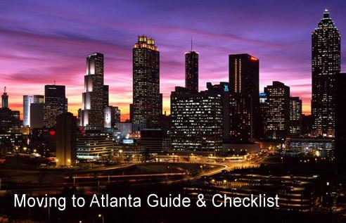 Moving to Atlanta Checklist - Atlanta Moving Gui