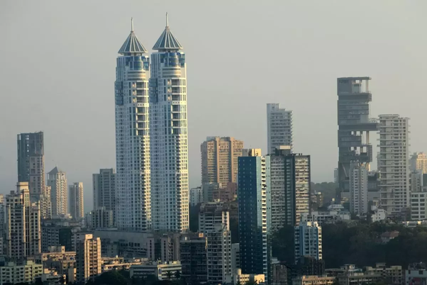 Why all of the skyscrapers in India are just in Mumbai? - Quo