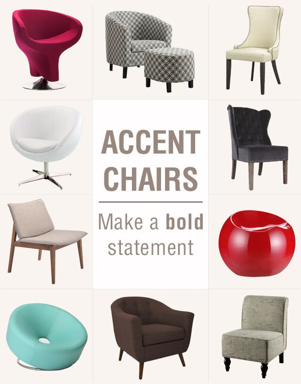 Different styles to reflect different decor tastes. What chair do .