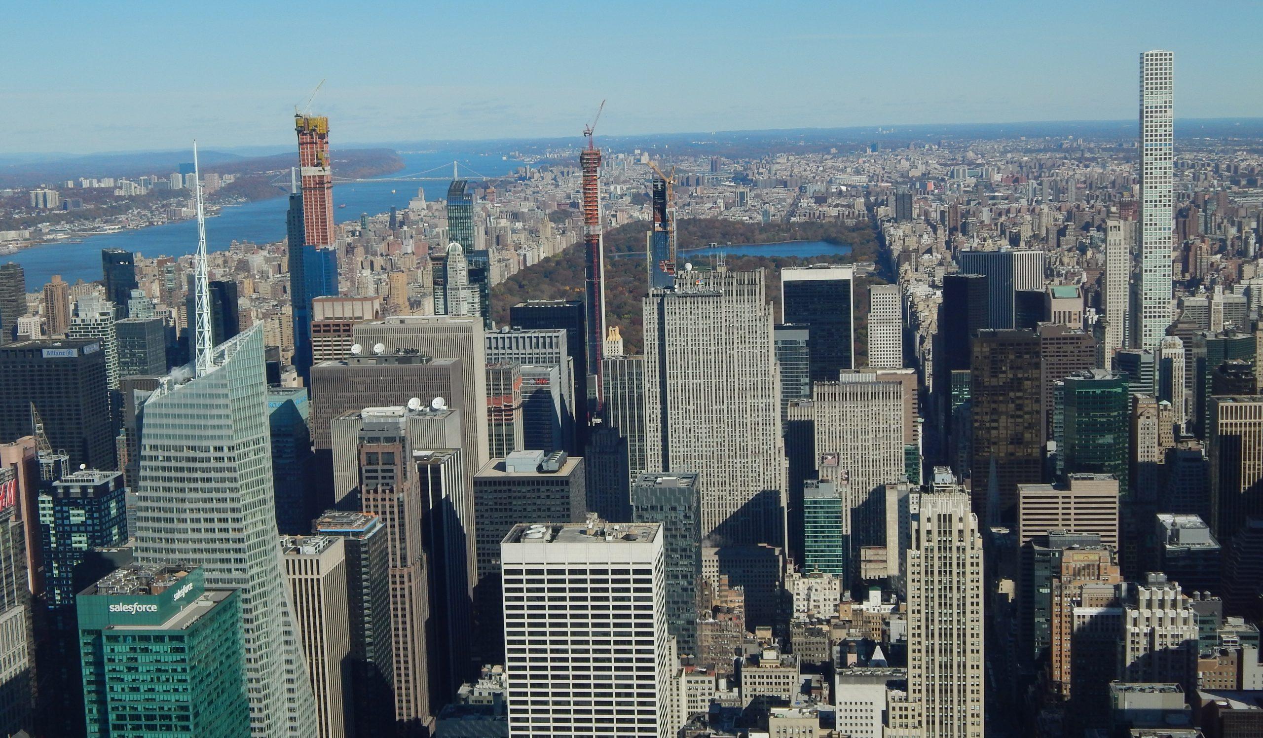 The most impressive New York skyscrapers