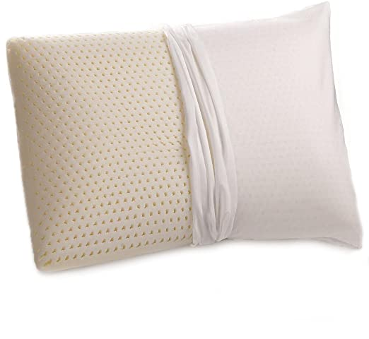 Amazon.com: Talalay Natural Latex Pillow with GOTS Certified .