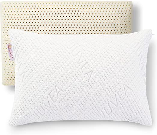 Amazon.com: JUVEA Pillow Talalay Latex Pillow - High Loft Latex .