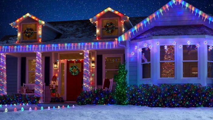 Outdoor Holiday Lighting Ide