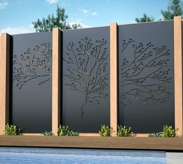 Architecture Decorative Outdoor Privacy Screens Screen Panels .