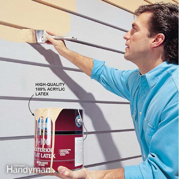 Painting Aluminum Siding — The Easy Way! | Family Handym