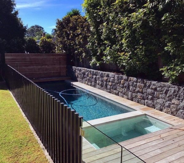 Top 50 Best Pool Fence Ideas - Exterior Enclosure Designs | Pool .