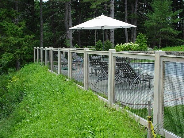 Pin by Barry Winters on Elements - Fence | Fence around pool .