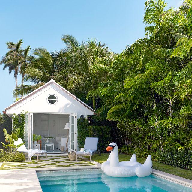22 Pool House Design Ideas That Feel Like Vacati