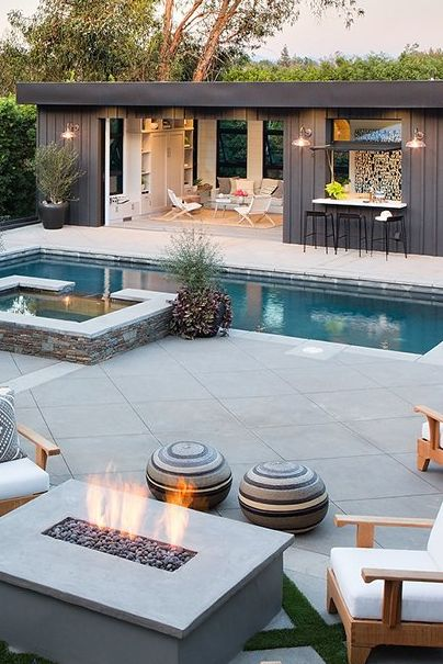 22 Pool House Design Ideas That Feel Like Vacati