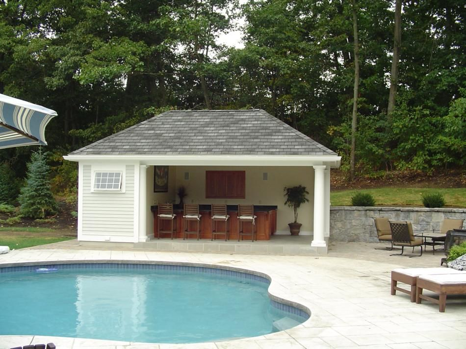 Pool house ideas and designs to keep your   decoration juices flowing