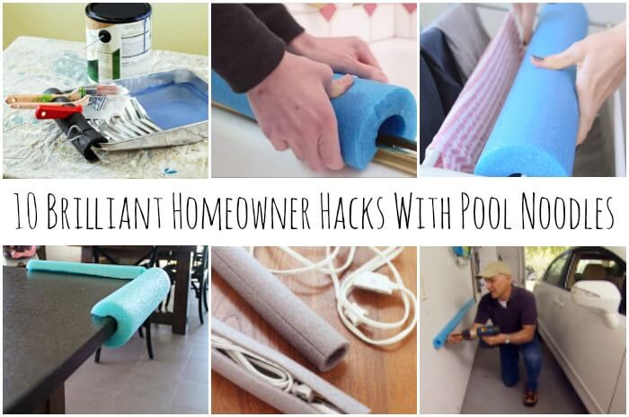 10 Brilliant Homeowner Hacks for Pool Noodles | Miss Informati