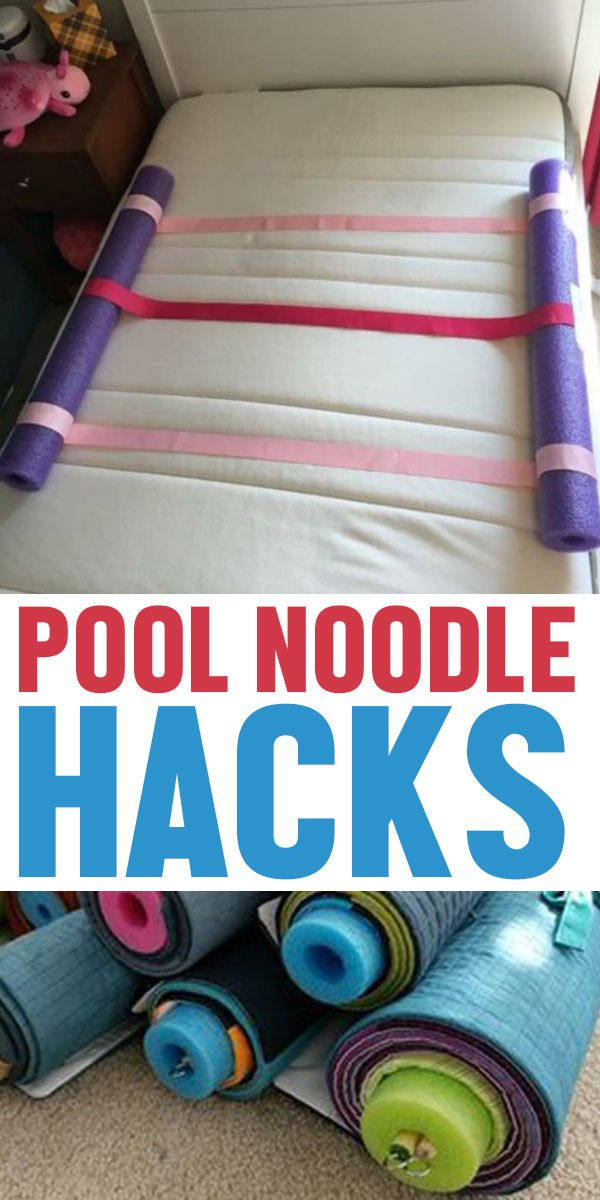 Pool noodle hacks to make your life   easier