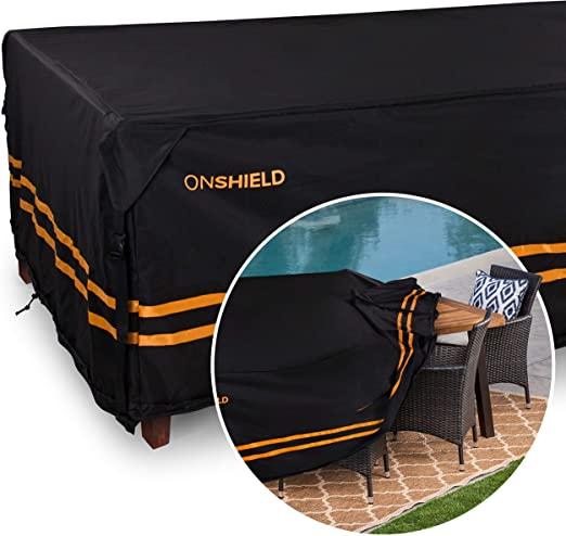 "Amazon.com: ONGUARD Waterproof Patio Furniture Cover - 124"" x 63 ."