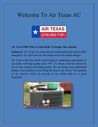 Emergency Ac Repair Service, Local Air Conditioner Repair Service .