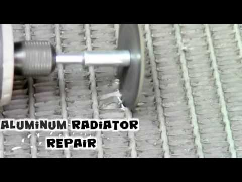 Low Temperature Aluminum Radiator Repair with Super Alloy 1 .