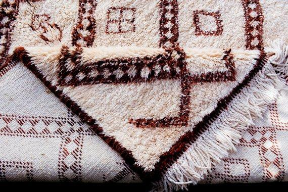 why choose Beni Ourain rugs to give another charm to your home .