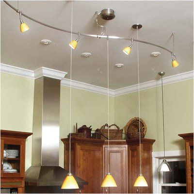 kitchen lighting | ... to Install Track Lighting Fixtures in Your .