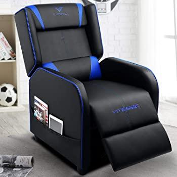 Amazon.com: VIT Gaming Recliner Chair Racing Style Single PU .