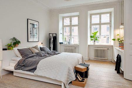 23 Scandinavian Bedroom Design Ide