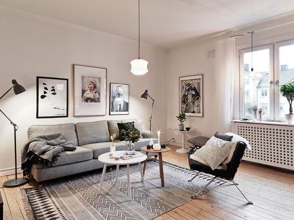 35 Light And Stylish Scandinavian Living Room Designs .