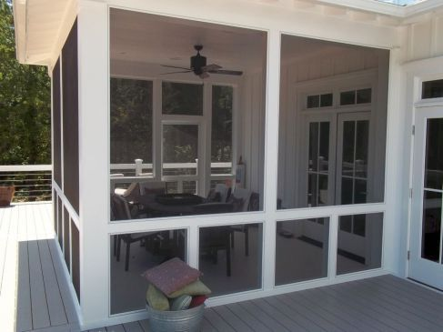 8 Ways To Have More Appealing Screened Porch Deck | Screened porch .