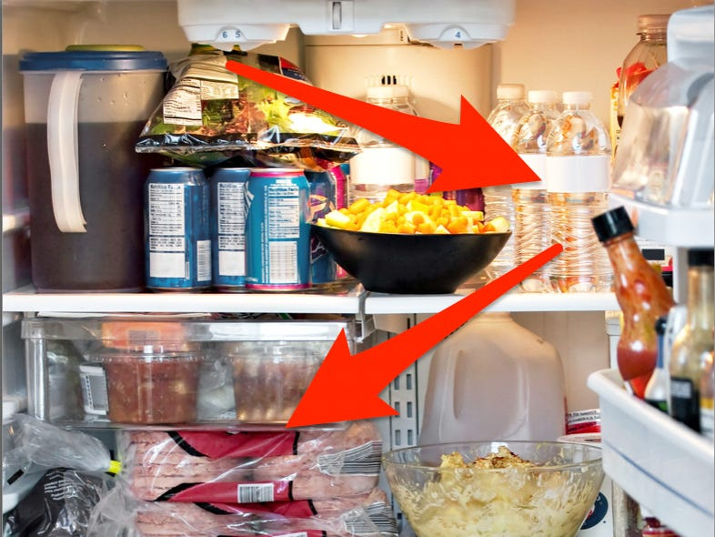 How to keep food from spoiling or going bad in a power outage .