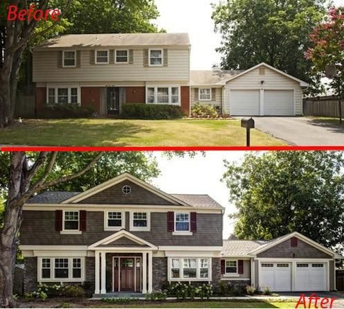 20 Ways To Add Curb Appeal To Your Home | Home exterior makeover .