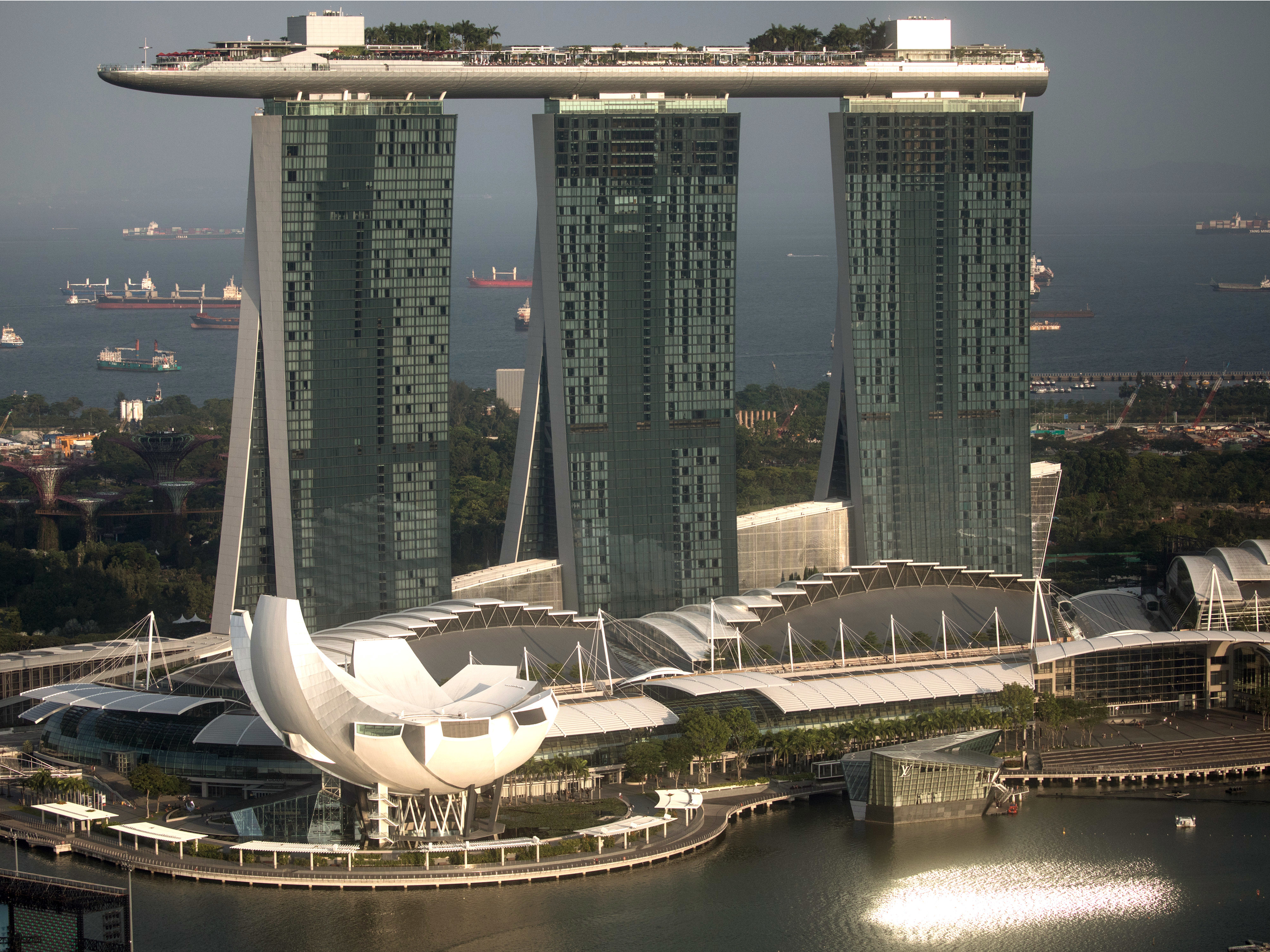 The tallest skyscrapers in Singapore in   the city-state