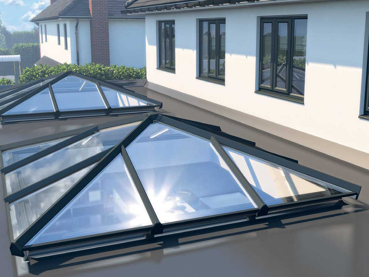 Skypod roof lanterns: how to illuminate   your home with style