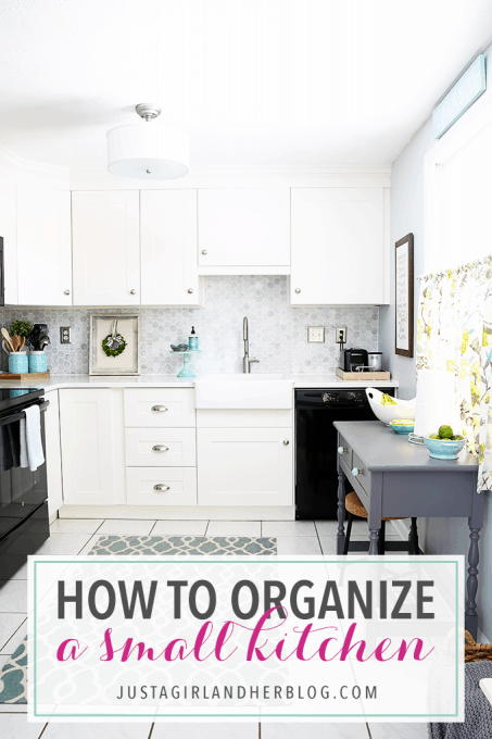 How to Organize a Small Kitchen | Abby Laws