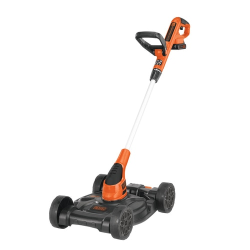 20V MAX* 12 in. 3-in-1 Compact Lawn Mower - MTC220 | BLACK+DECK
