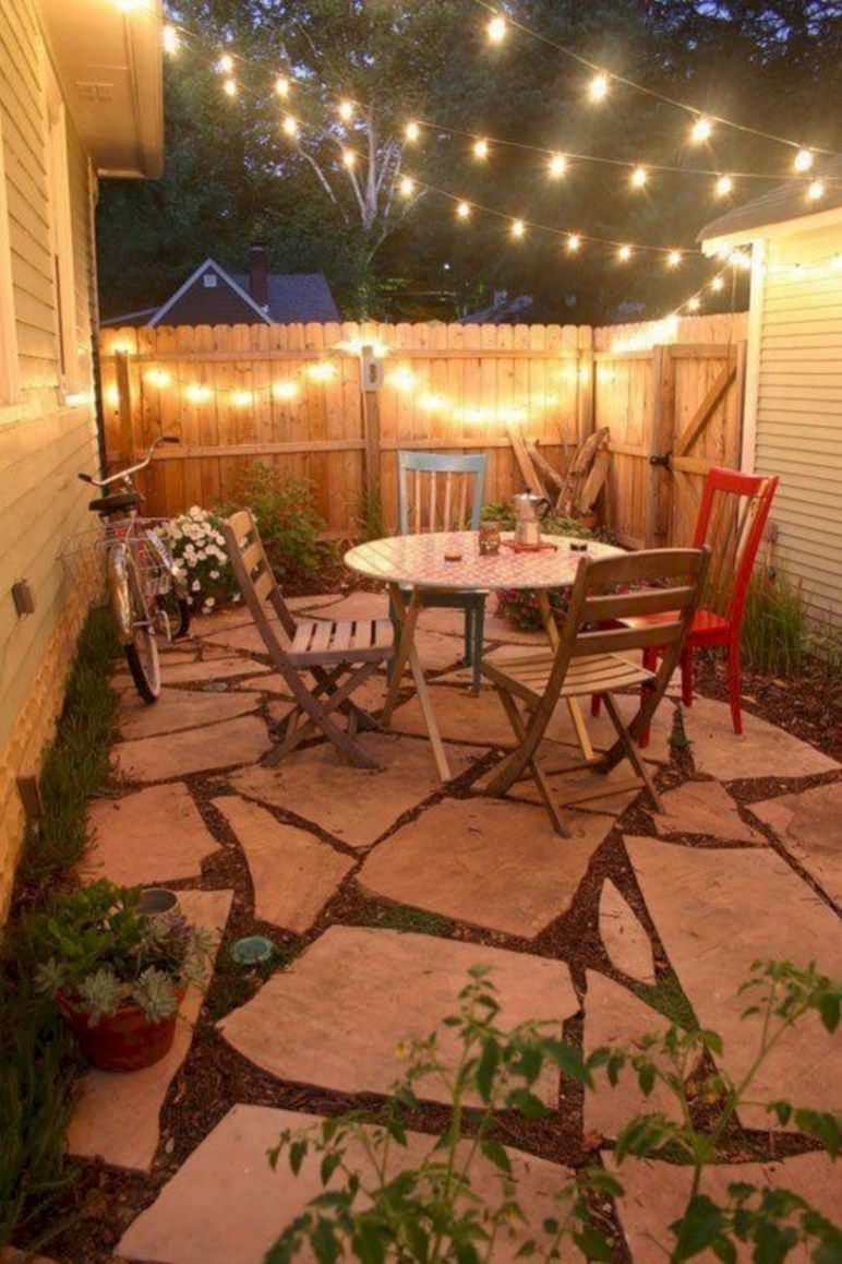 Small patio ideas on a small budget: this   is how you create a cozy outdoor area