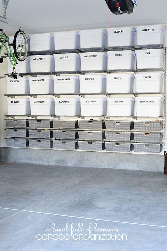 15 Ideas to Organize Your Garage | Garage organisation, Garage .