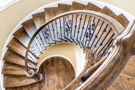 How to Build a Spiral Stairca
