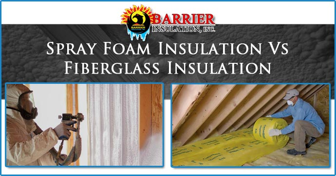 Spray Foam Insulation Vs. Fiberglass Insulation - Phoenix Vall